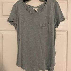 H&M Light Blue Basic Tee
